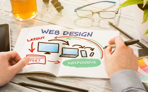 Responsive web design layout planning