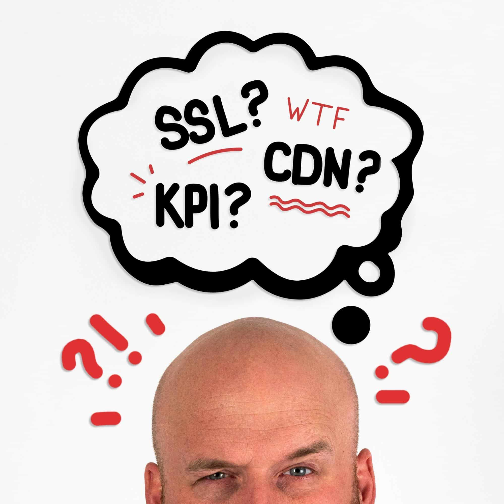 Frank thinking about ssl's, kpi and cdns in relation to website seo ranking